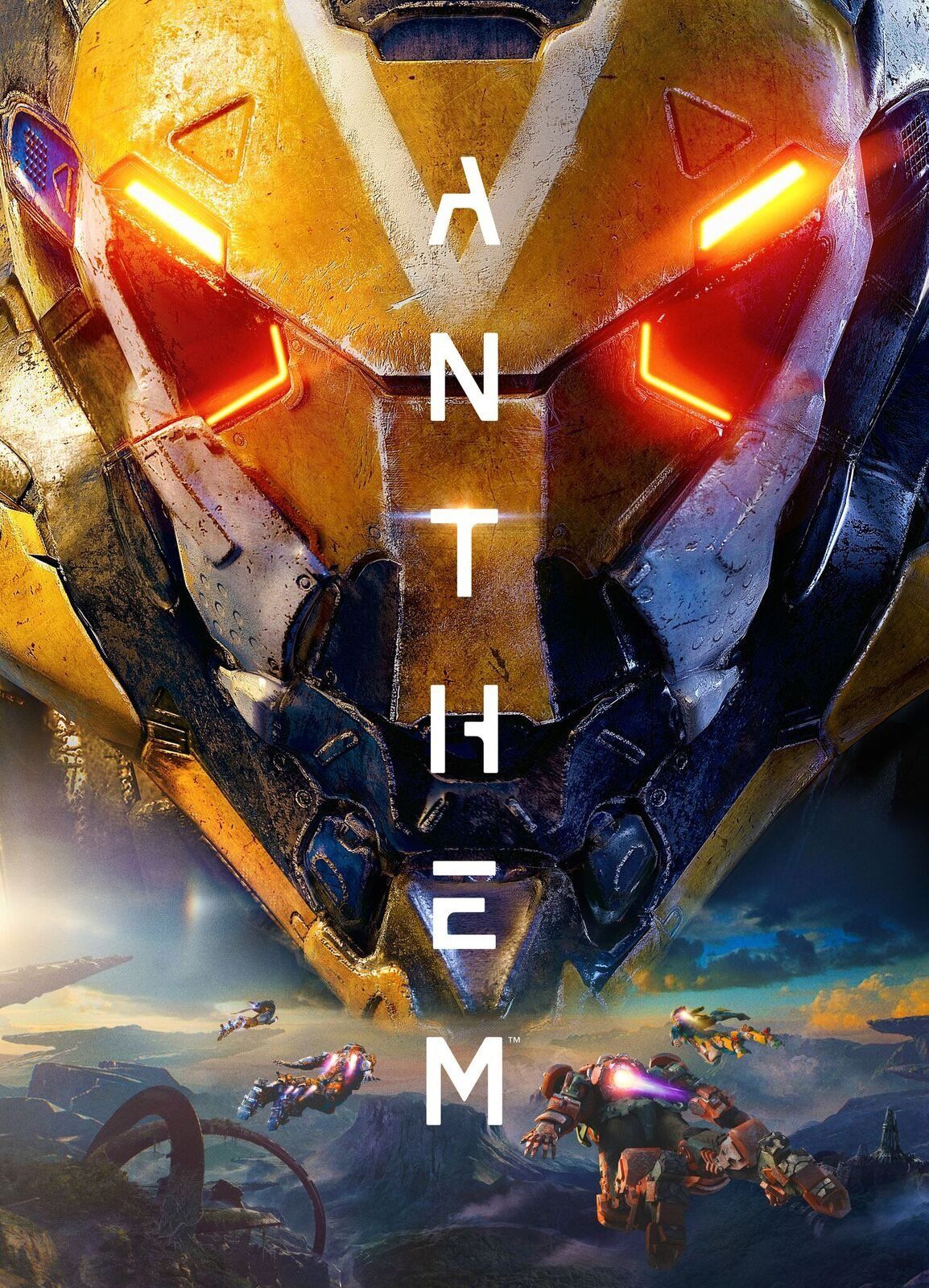 Anthem official box art anthem game anthem ps4