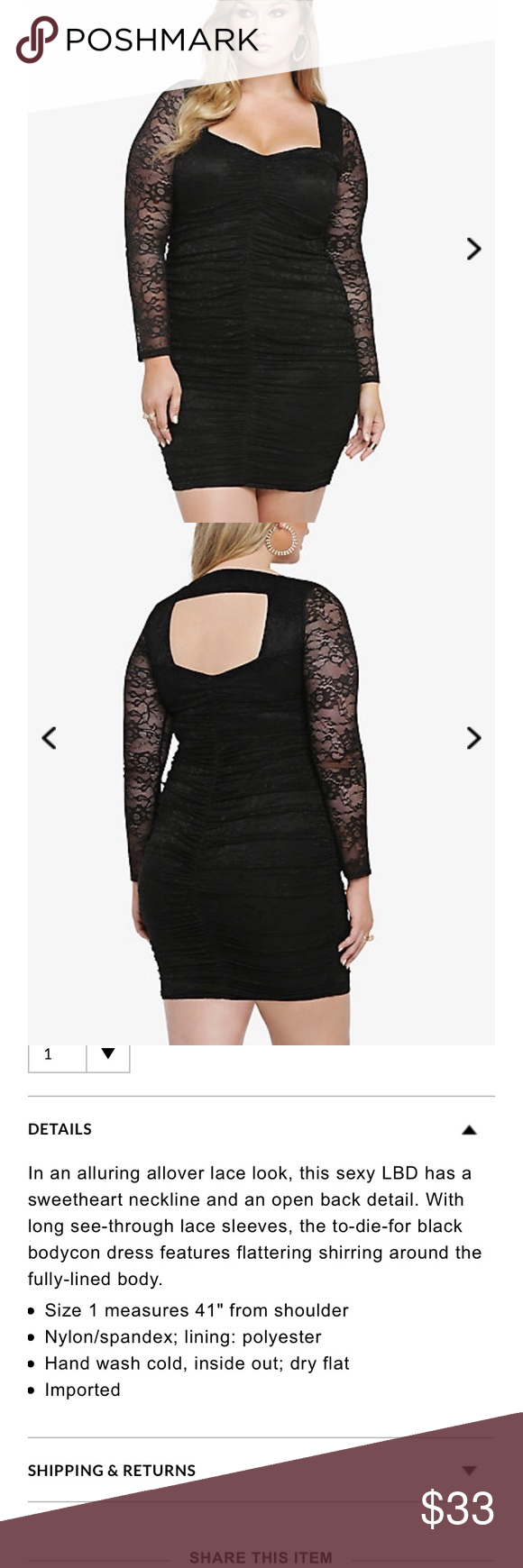 Lace dress torrid  Torrid shirred lace bodycon dress O  Lace Dresses and Torrid