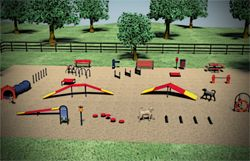 Niche Market Power Dog Lovers Getting Dog Parks With Images Dog Playground Dog Agility Course Dog Agility Course Diy