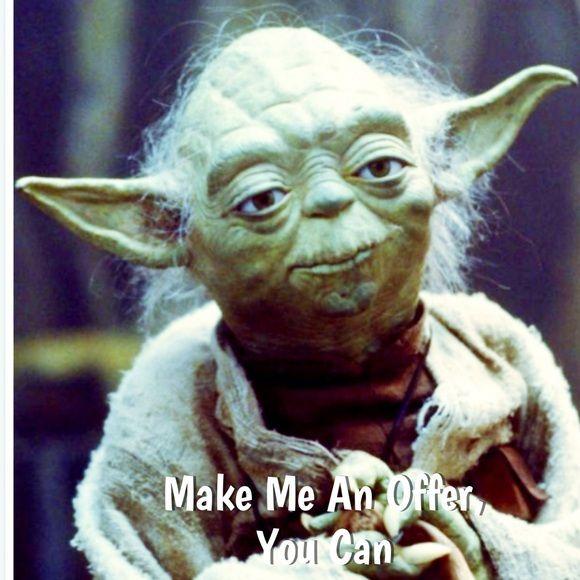 I Can T Say Yes If You Don T Offer Yoda Funny Yoda Meme Star Wars Yoda