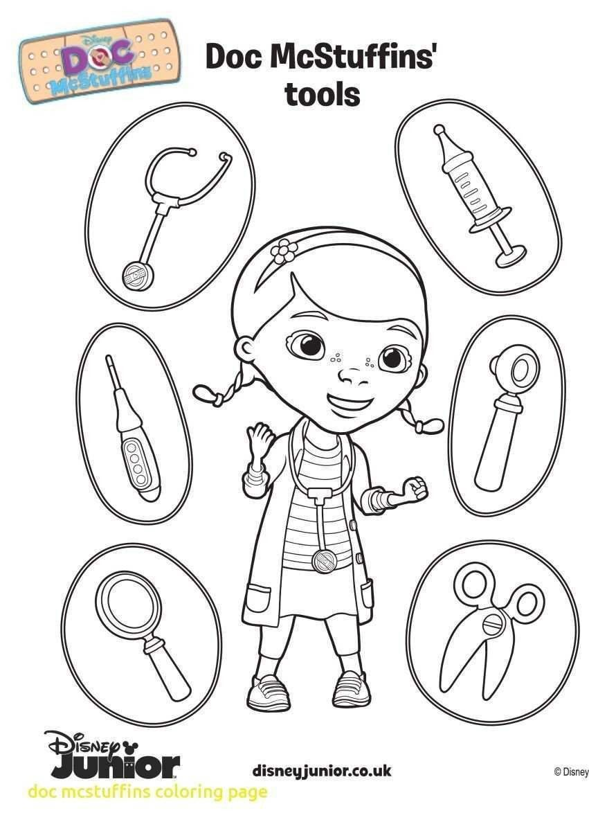 Doc Mcstuffins Coloring Pages Unique Upin Ipin Coloring Pages Pdf