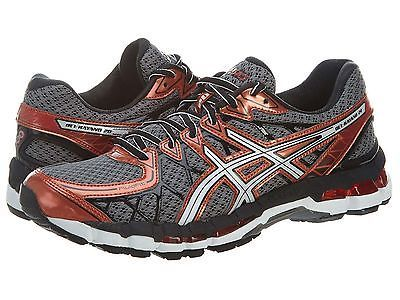 Asics Gel Kayano 20 Mens T3N2N 7501 Storm White Rust Running
