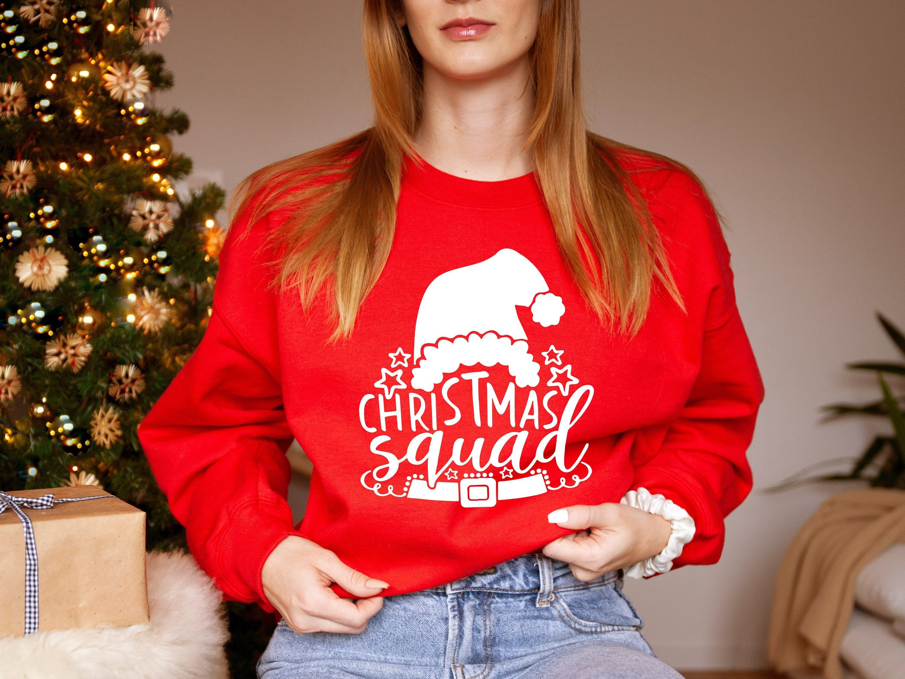 Christmas Squad Shirt, Christmas Family Squad Shirts, Christmas Family Shirts, Christmas T-shirt For Family, Custom Xmas Shirt, Xmas Gift ✔ By gifting it, you can create an unforgettable memory. ✔ This tshirt will make you feel happy and comfortable. ✔ We prepare our products with love and care We are here to provide you perfect designs, high levels of quality and affordable products. We are dedicated to giving you the best customer satisfaction in LEVELUPTEES. HOW TO ORDER: 1-Please check all o