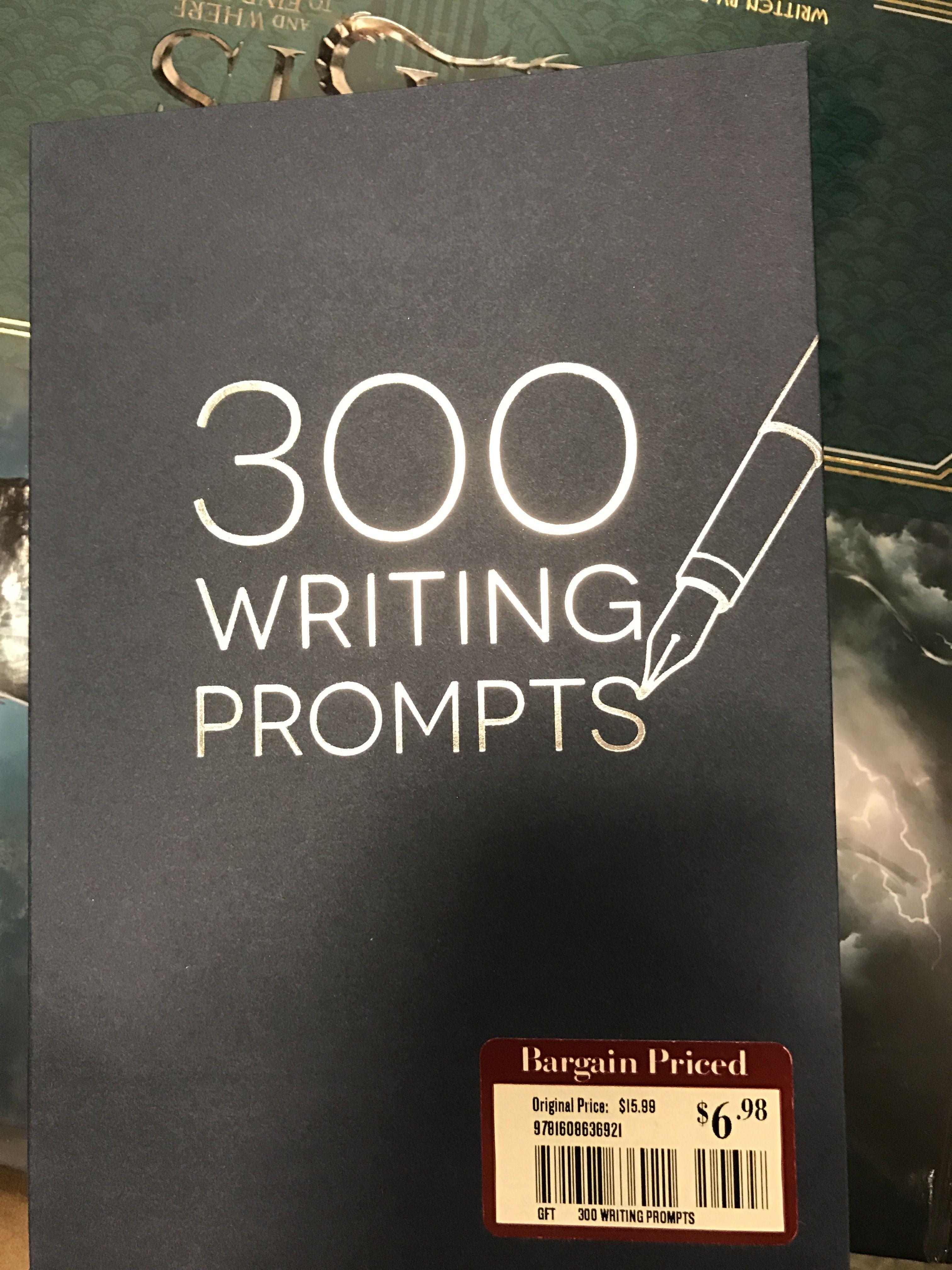 e8e285c0bb 300 Writing Prompts Barnes and noble  6.98