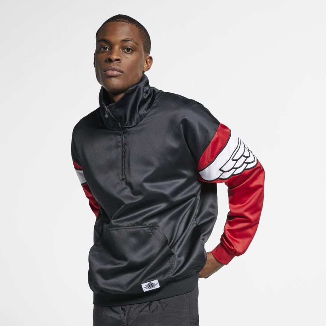 ab61bdf881e Jordan Wings Classics Men s Jacket Size 2XL (Black) in 2019 ...