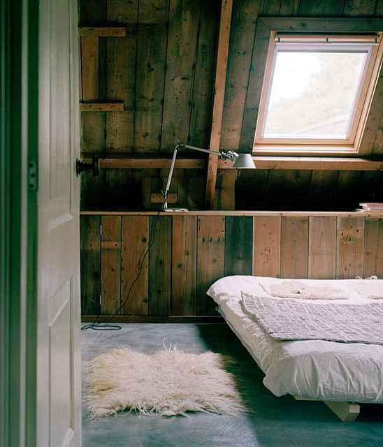 Simple Bed, Bedrooms And Beams