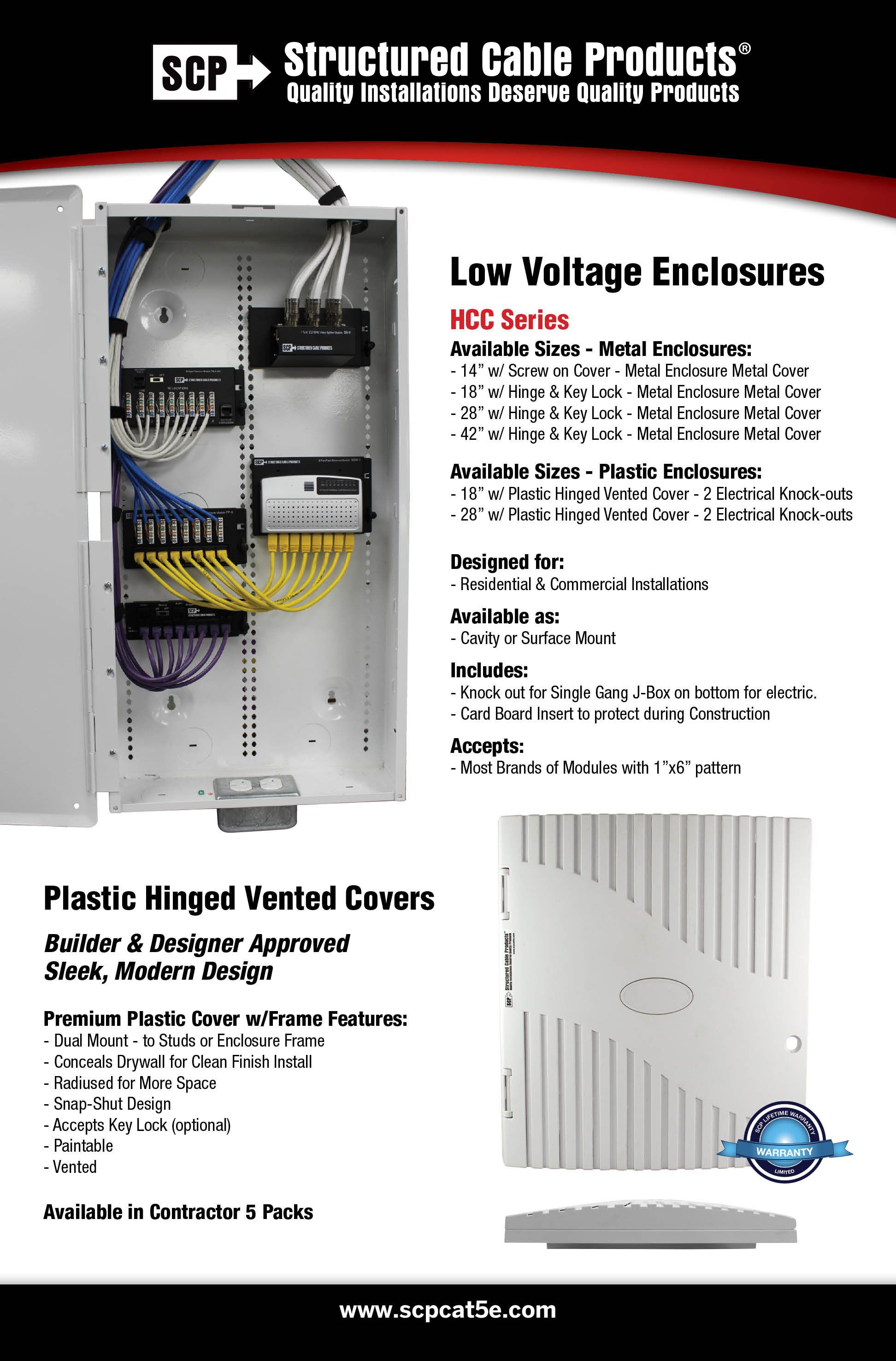 Low Voltage Enclosures Enclosures Structured Cabling Locker Storage