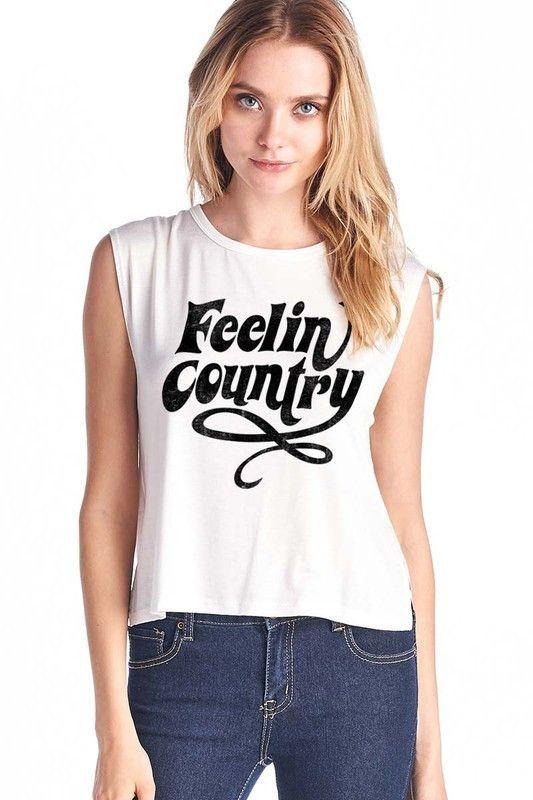 Feelin' Country Tank