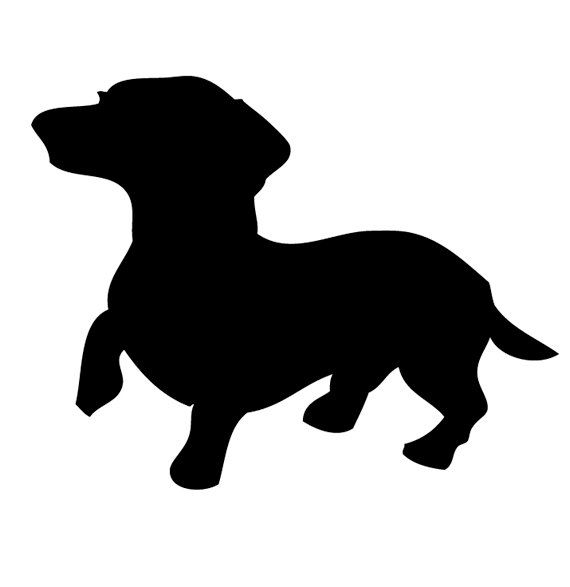 our dachshund constantly does this it s his i m interested in what rh pinterest co uk dachshund clipart pictures dachshund clipart silhouette