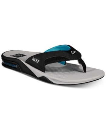 0f0a78559d37 Reef Men s Fanning Flip-Flop Sandals - Blue 7 in 2019