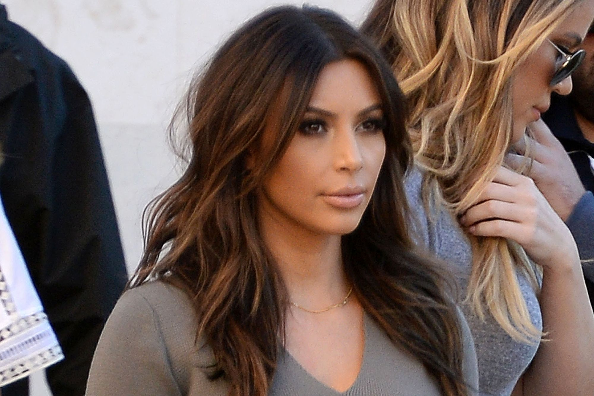 Did Kim Kardashian Go Back To Brunette For Vogue Beauty Hair