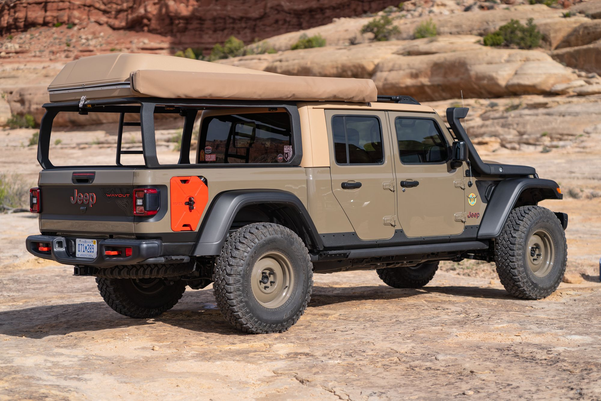 The Jeep Gladiator Wayout Expedition Portal In 2020 Jeep Gladiator Jeep Gladiator
