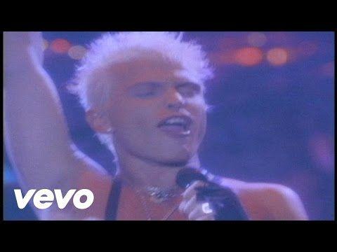 Billy Idol - Mony Mony (Live) - YouTube | music | Billy idol mony