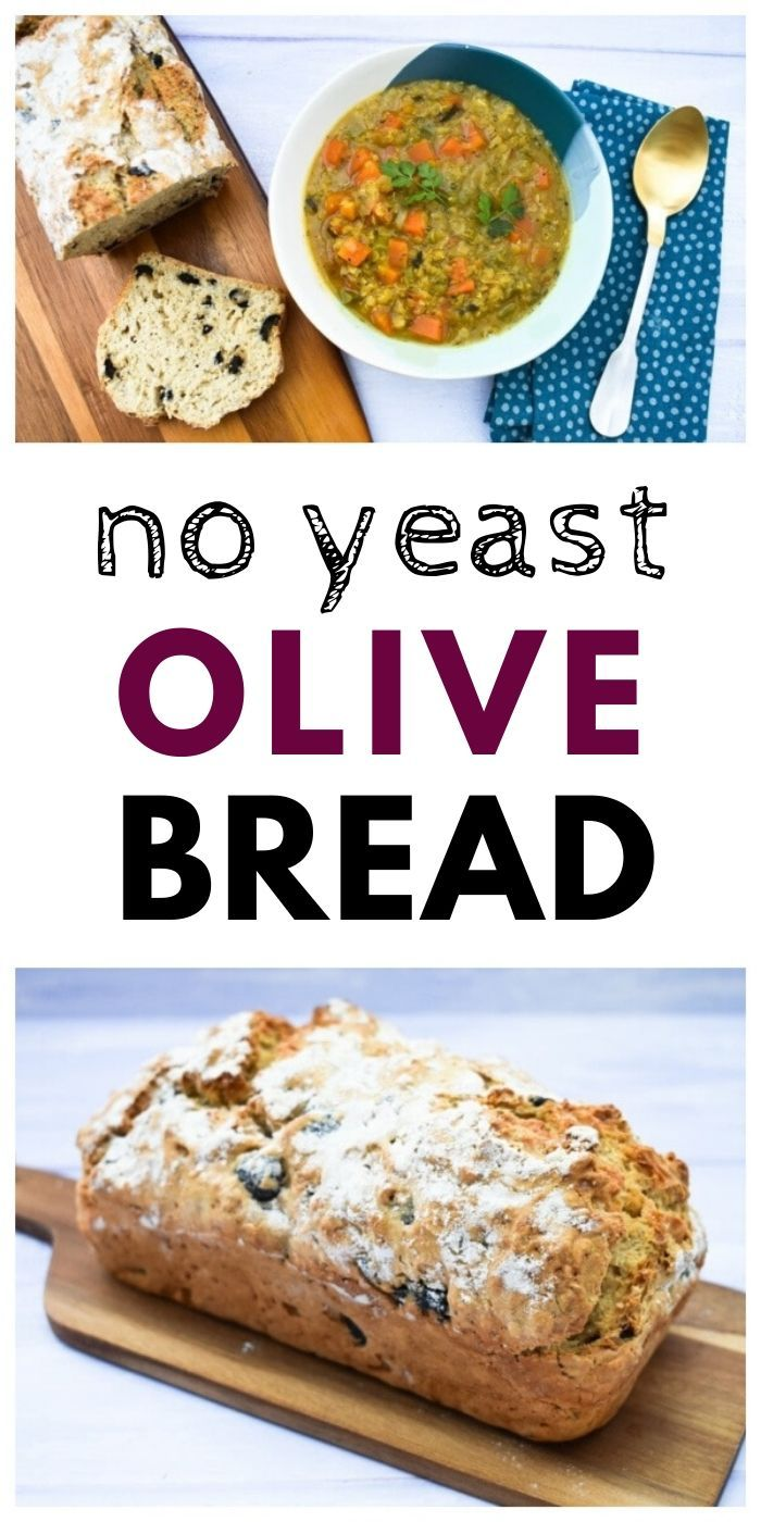 No yeast olive bread is a quick bread with amazing results ...