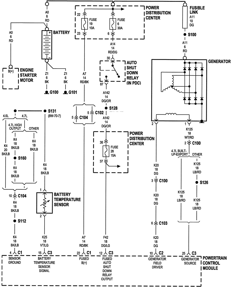 Electrical Wiring Voltage Regulator Diagram For A Jeep D W In Alternator Jeep Grand Cherokee Jeep Grand Grand Cherokee Limited