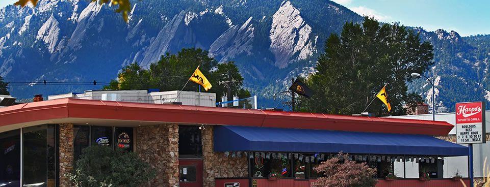 Harpos Bar & Sports Pub Sports pub, Sports grill, Bouldering