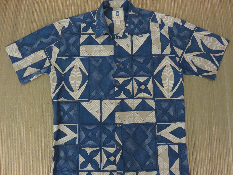 4f8eb7433 Vintage Hawaiian Shirt 90s KAHALA Tiki Tribal Tapa Surf Beach Retro Aloha  Shirt Mens - M - Oahu Lew's Shirt Shack by OahuLewsShirtShack on Etsy