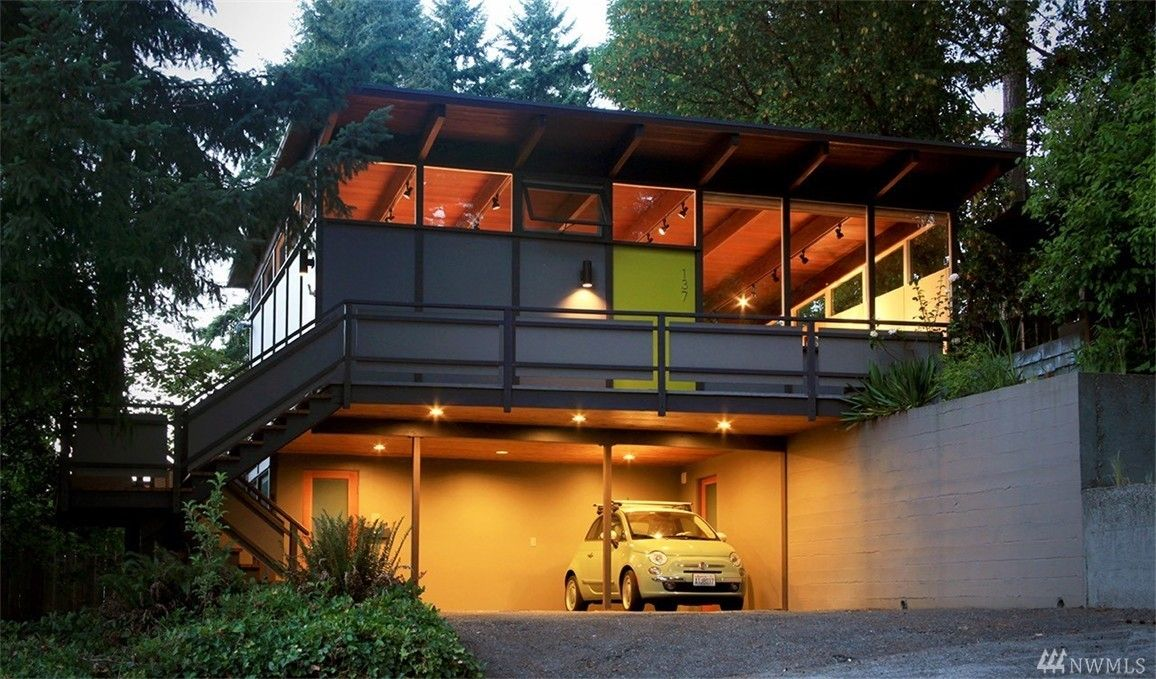 Where inside really feels like outside, this TRUE mid century modern ...