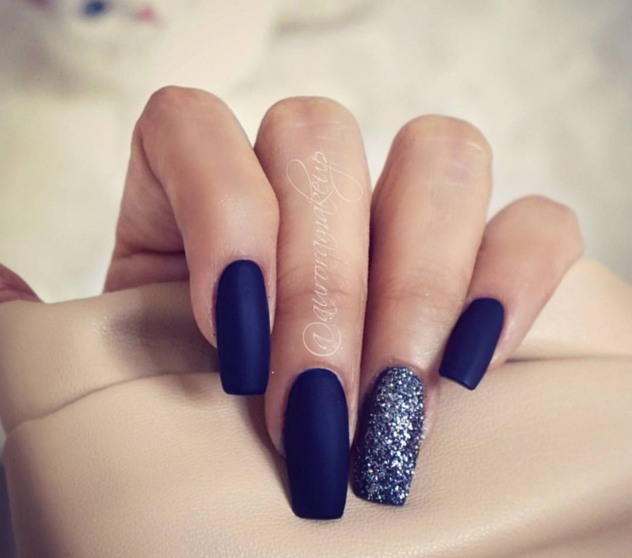 Pin by armanda on uñas | Pinterest | Manicure, Make up and Blue nails