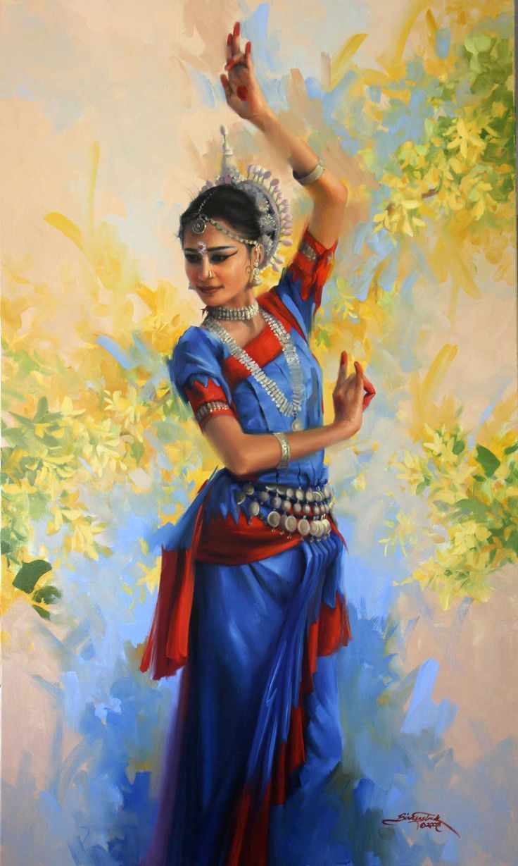 aa215c0fbc3ef8fcdcc50c443b3609e4.jpg (736×1229)   painting ... for Abstract Painting Of Indian Dancers  111ane