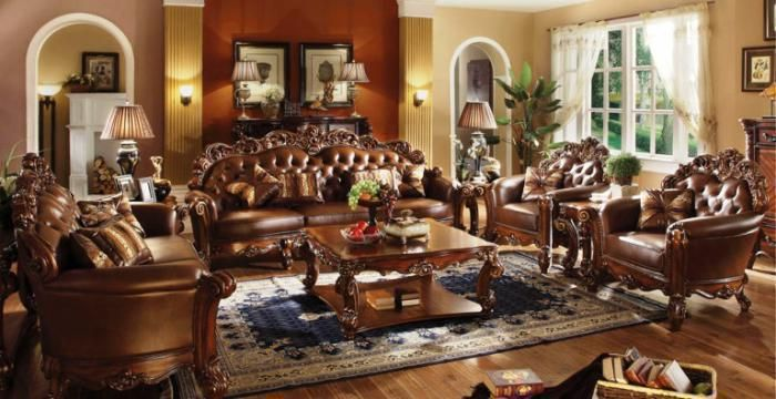 Canales Furniture   Arlington, Dallas, Fort Worth, Mesquite, TX Vendome  Formal Living