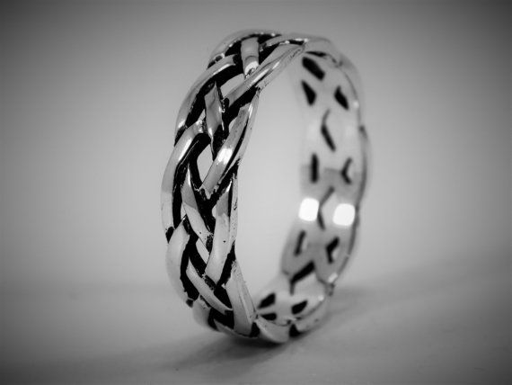 Sterling Silver Weave Ring  / Woven Ring / by MillraceLaneBoutique