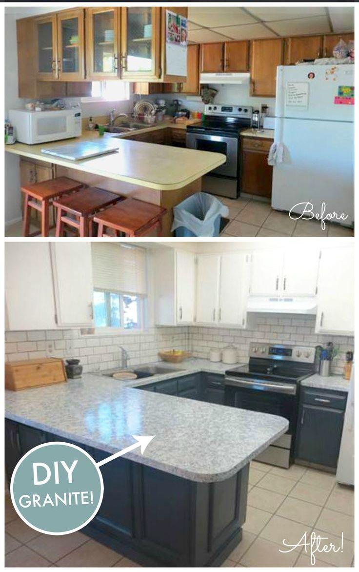 DIY granite   Home Work   Pinterest