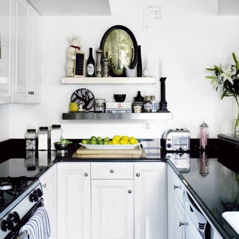 Small Kitchen Design Black And White - Kitchen Design