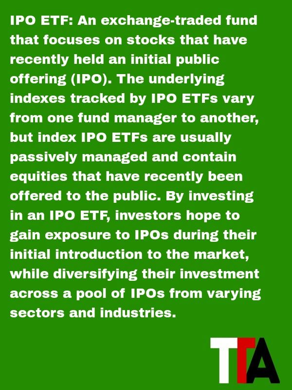 Etf fund that is for ipo