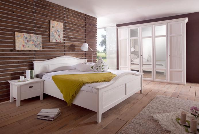 Komplett Schlafzimmer Die Schlafzimmer Ganz Einfach Weiß Kiefern Von - Schlafzimmer komplett mit lattenrost und matratze