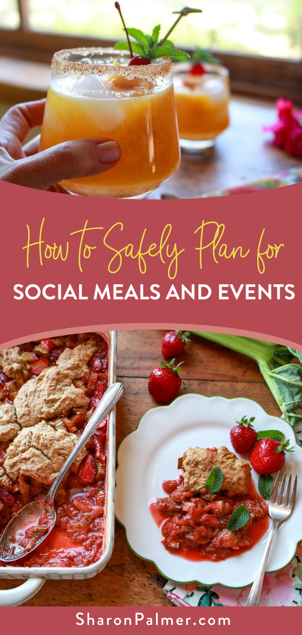 Planning for Social Meals and Events Safely Sharon
