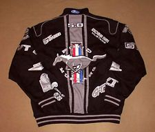 Ford Mustang Jacket Jeff Hamilton X Large 40th Anniversary