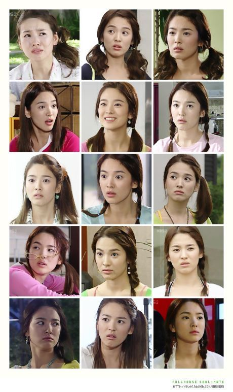 Song hye kyo in full house   beautiful actress   Pinterest ...