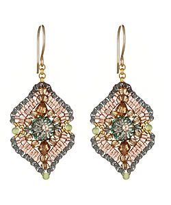 Miguel Ases Woven-Drop Earrings