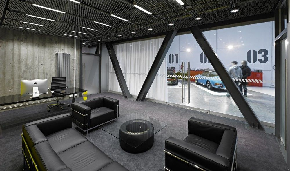 Gallery Of Office Garage Ultra Architects 5 Interieur
