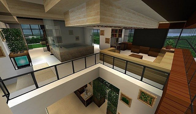 Modern House Minecraft Project Minecraft House Designs Minecraft Mansion Minecraft Houses