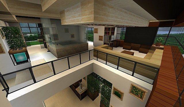 Maison Moderne De Luxe Minecraft Idees