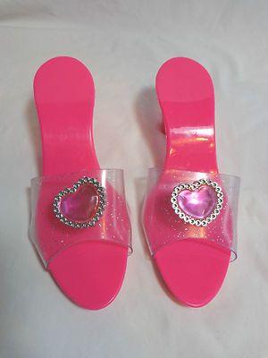 Pink shoes heels