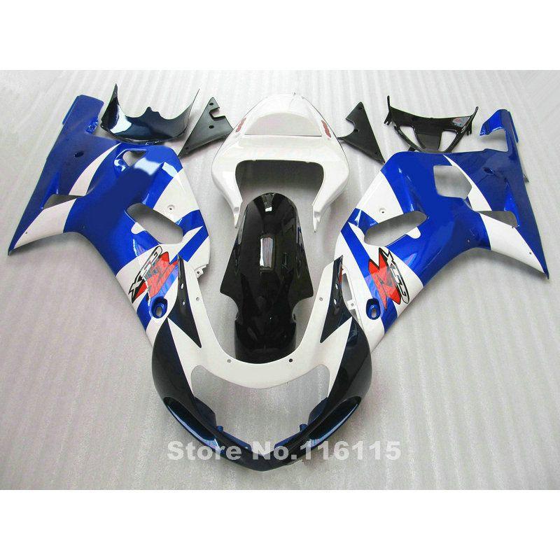 motorcycle fairing kit fit for SUZUKI GSXR600 GSXR750 K1