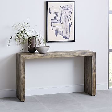 West Elm Emmerson Reclaimed Wood Console Natural Reclaimed