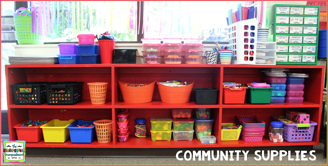 Community Supplies! http://www.thekindergartensmorgasboard.com/2016/02/community-supplies.html