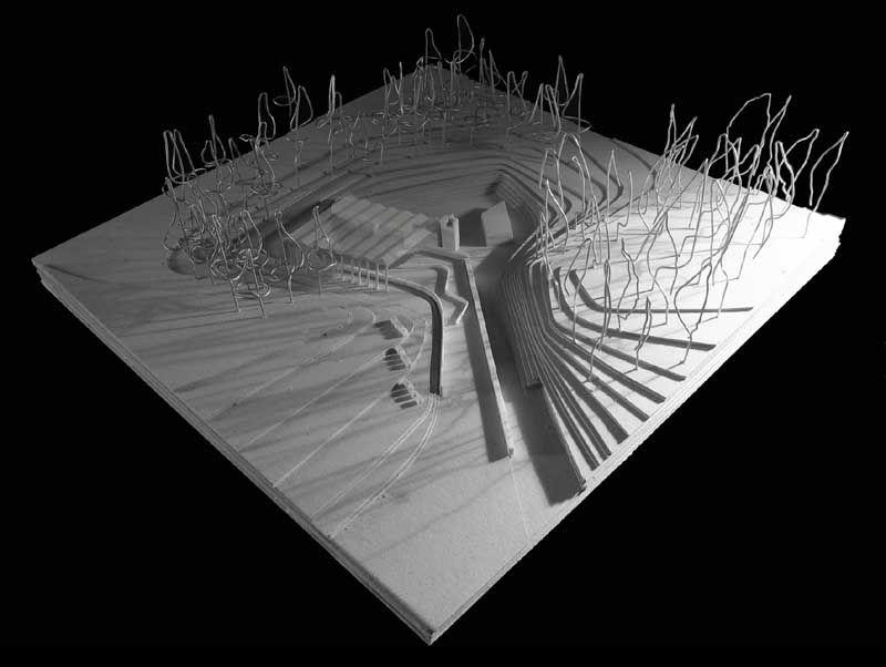 Amphitheatre Plan Google Search Architecture