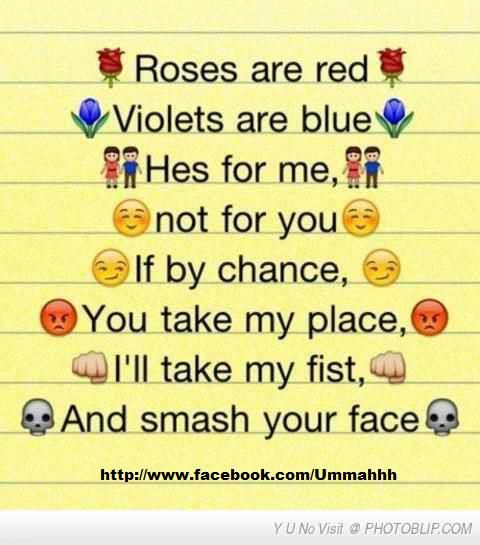 Roses are red violets are blue | Cute, Just Funny ...