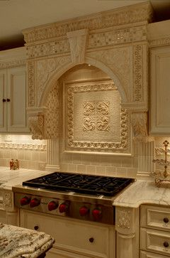 Decorative Backsplash Tile Endearing Amazing Ornate Tile And Installation In This Fabulous Luxury Design Ideas