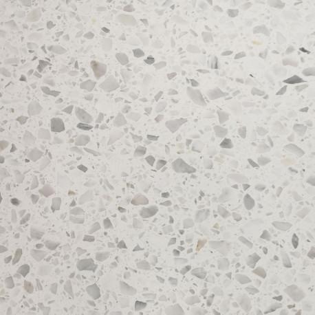 Carrelage Sol Et Mur Terrazzo Carrara Marbre Naturel Blanc Et Gris