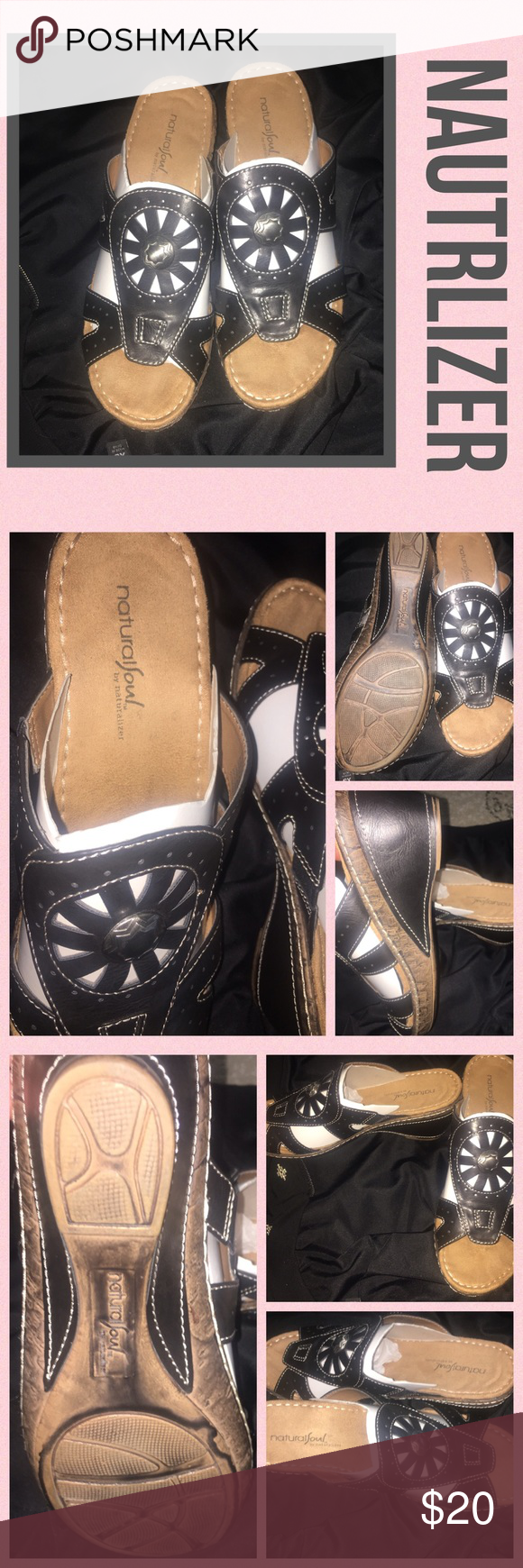 Nautralsoul by Nautrlizer brown wedges sz 10 Cute authentic size 10 as seen nautrlizer Shoes Mules & Clogs