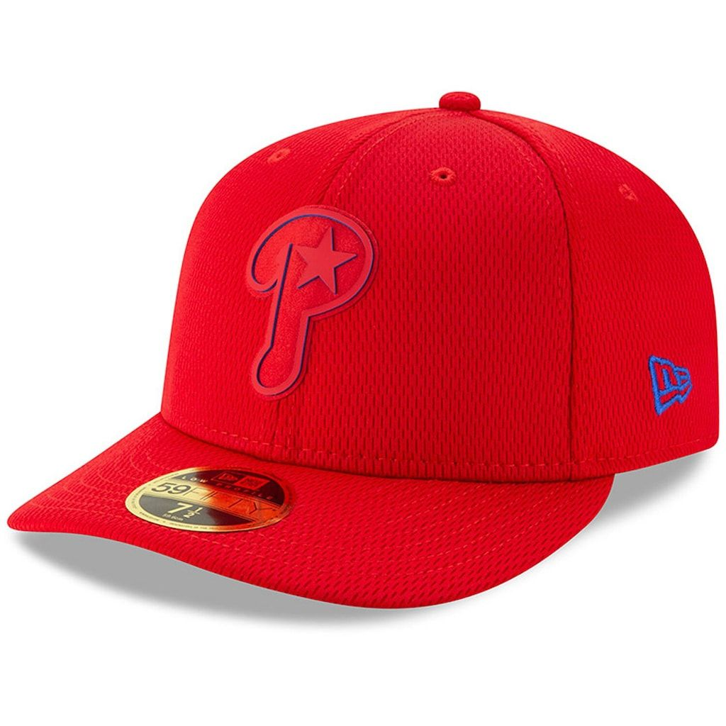 new photos run shoes reputable site Men's New Era Red Philadelphia Phillies 2019 Clubhouse Collection ...