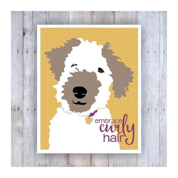 Embrace Curly Hair, Hair Art, Teen Room Decor, Gifts for Teen Girls ...