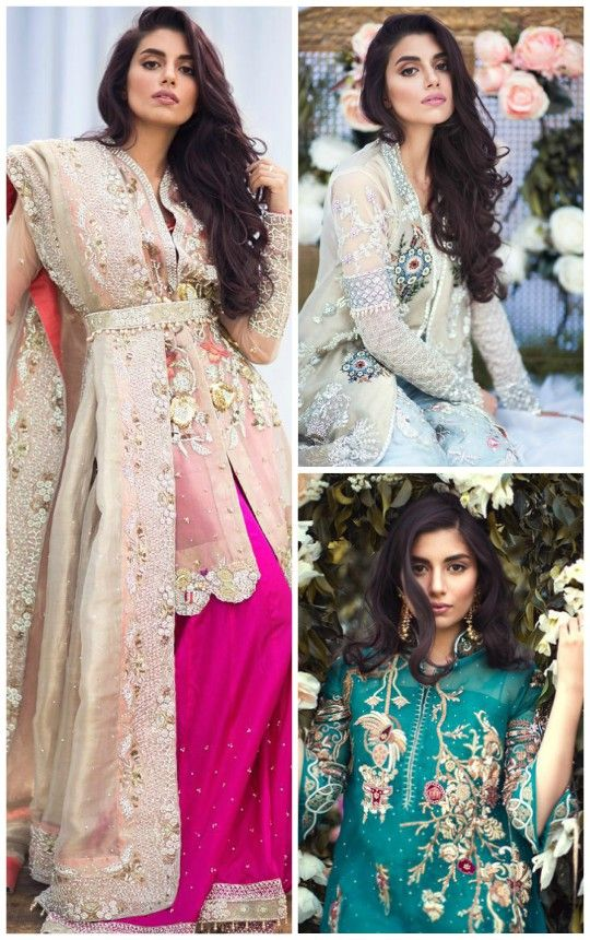 Sana Salman's Spring Summer '16 Couture Collection is an epitome of timeless beauty. The collection entails luxurious fabrics of organza, nets and voile silk in rich hues of ivory whites, fuschia p…
