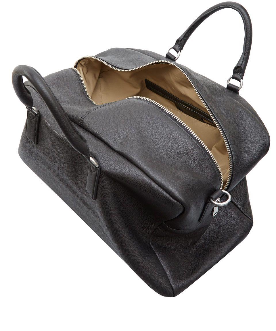Marc By Marc Jacobs Black Leather Weekender Bag in Black for Men ...